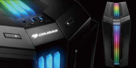 86acfc96aa Trelux RGB照明:3本のRGBを搭載した贅沢な照明(COUGARオリジナル技術). PCケース ...